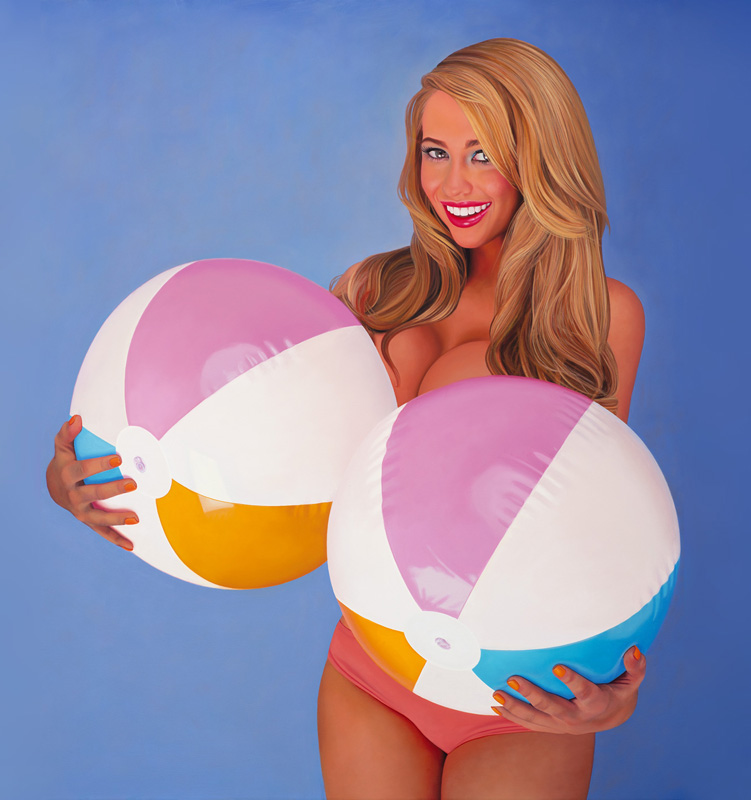 Kelly-Anne-Davitt Beach Balls & Melons
