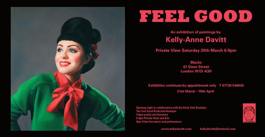 Kelly-Anne Davitt Artist Feel Good