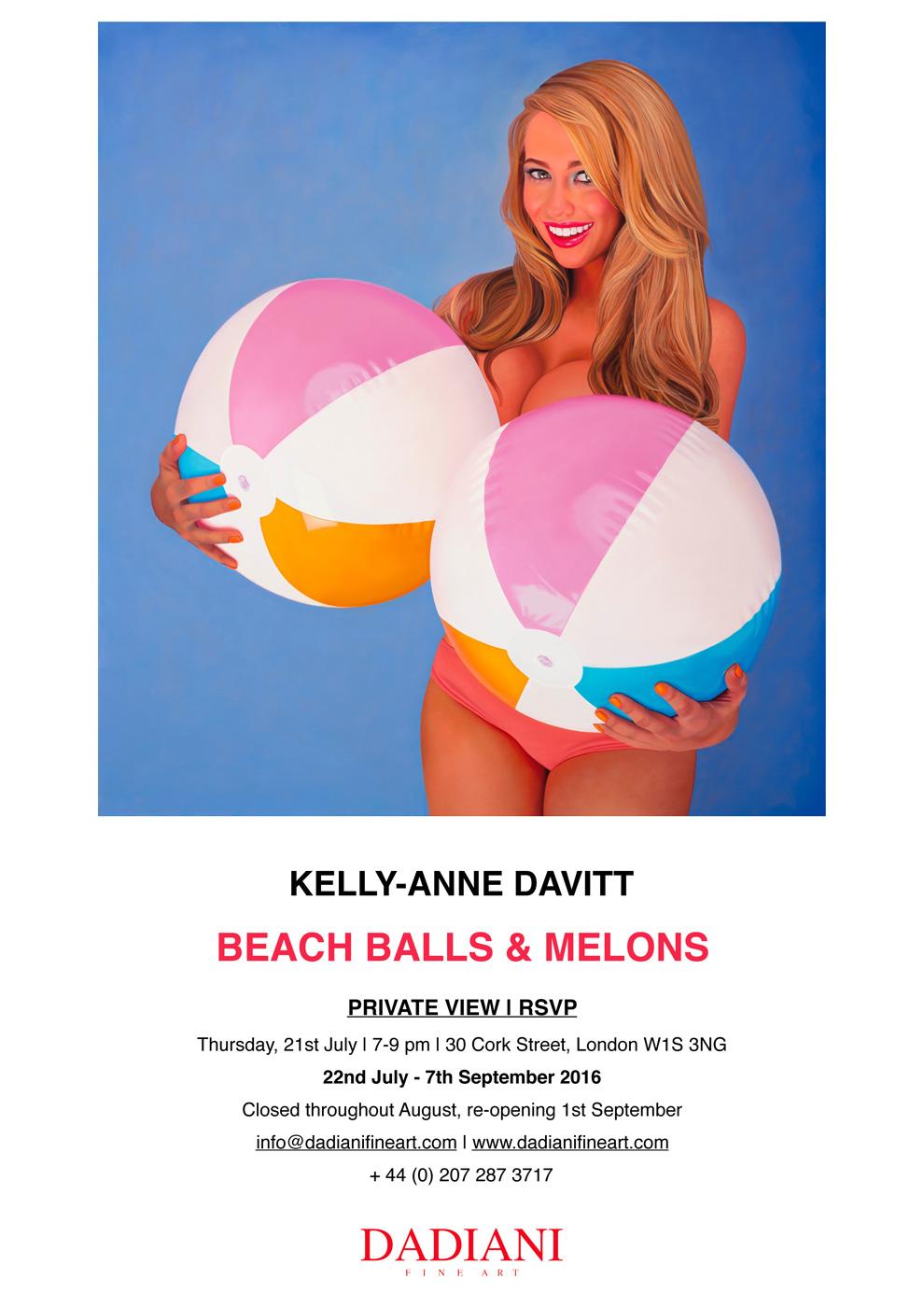 Kelly-Anne Davitt Beach Balls & Melons