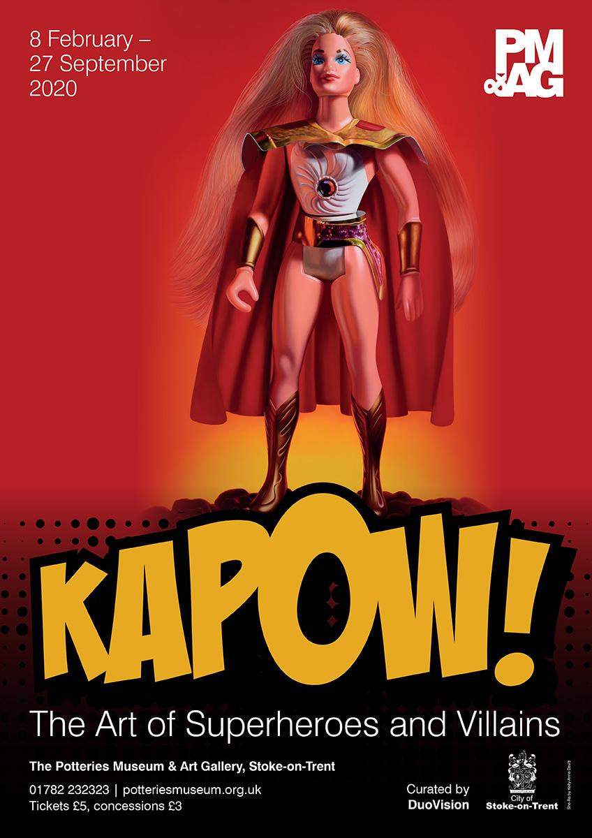 Kapow The Art of Superheroes and Villains Kelly-Anne Davitt Artist